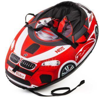 Sanki_Vatrushka_Tubing_Small_Rider_Snow_Cars_BW_Red_result