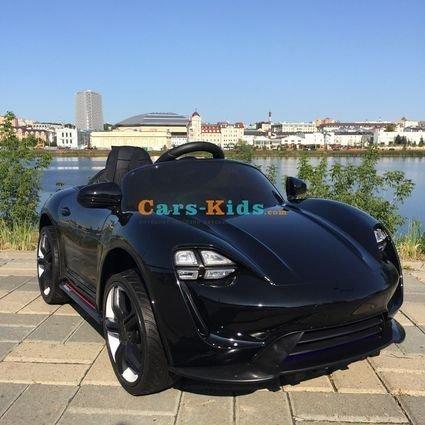 Электромобиль Porsche Sport черный