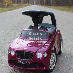 Толокар Bentley фиолетовый (музыка, гудок, бардачок)