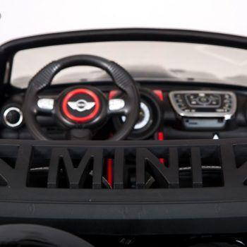 Электромобиль BMW Mini Beachcomber (двухместный, кожаное кресло, пульт, музыка)