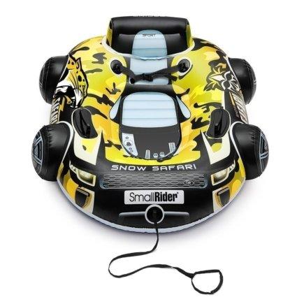 Cанки-тюбинг Small Rider Snow Safari 2 желтый (надувные, бескамерные, до 100 кг, размер 107х90см)